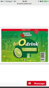 punch power bio drink